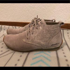 Eddie Bauer gray ankle boot